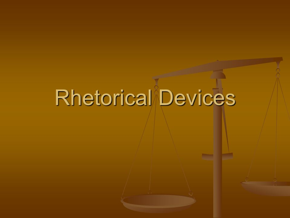 Rhetorical question A question asked merely for rhetorical effect and not requiring an answer A question asked merely for rhetorical effect and not requiring an answer Ex: Ex: The actors played the roles well.