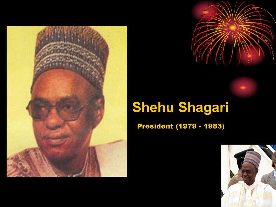 Shehu Shagari President (1979 - 1983)