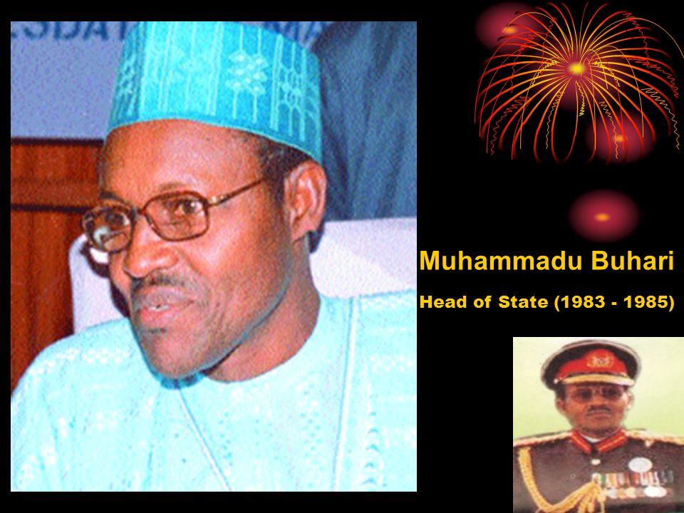 Muhammadu Buhari Head of State (1983 - 1985)