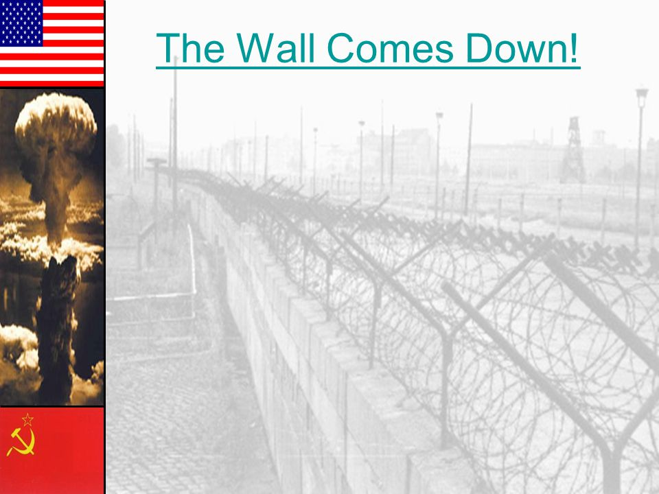"""Cold War Summary: Soviet & Eastern Bloc Nations US & the Western Democracies GOAL  spread world- wide Communism GOAL  """"Containment"""" of Communism How"""