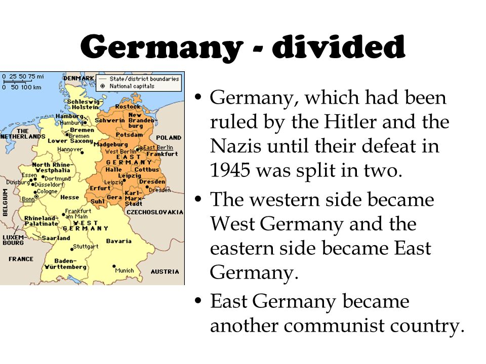 After World War 2, the world changed! Many countries became communist after World War 2 including: -Czechoslovakia (1948) -Poland (1947) -Hungary (194