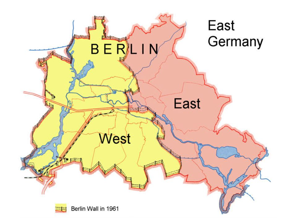 Results Important results for Berlin, Germany and the Cold War: BerlinBerlin was divided, free access ended between East and West, many families split
