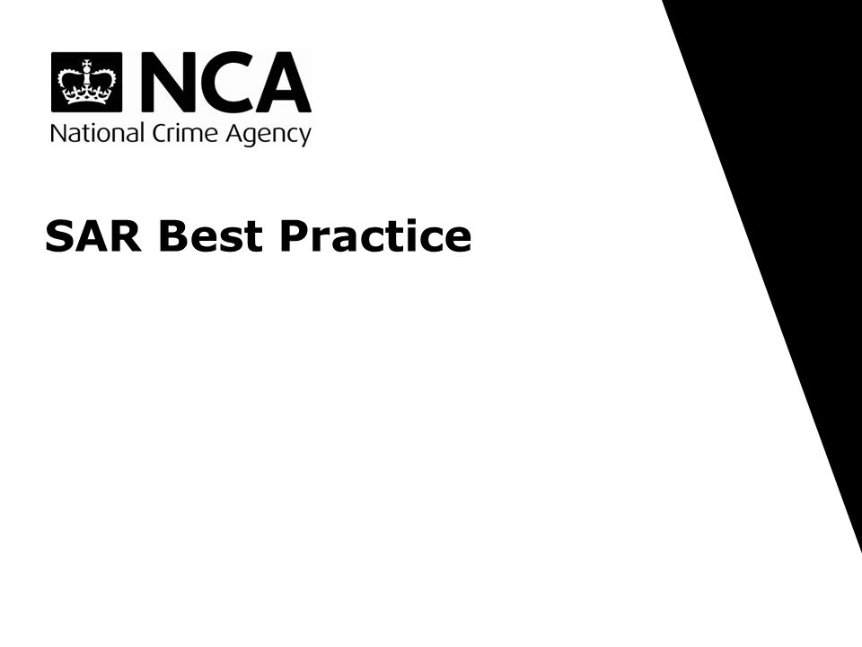 SAR Best Practice