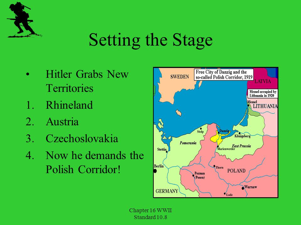 Chapter 16 WWII Standard 10.8 Hitler Invades Soviet Union June 22, 1941 Operation Barbarossa Scorched- earth policy Sept.