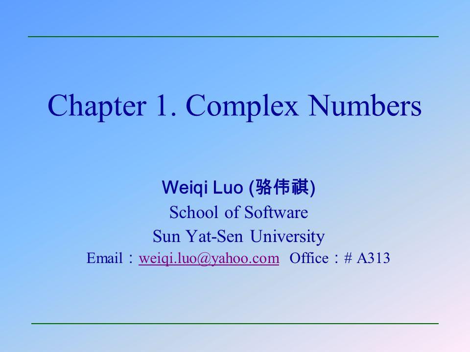 School of Software       4. Vectors and Moduli 22