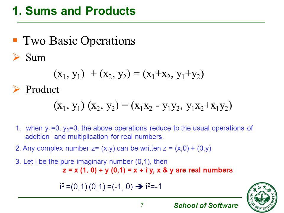 School of Software  Example 2 7.