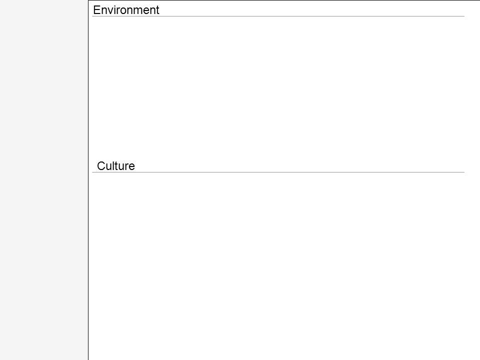 Environment Culture