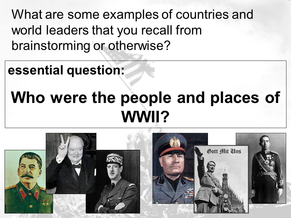 essential question: How does the propaganda showing D-Day compare to the reality of D-Day.