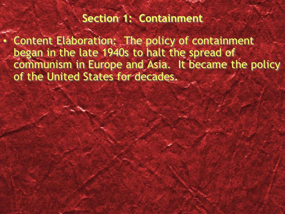 OGT Short Answer The Marshall Plan was a plan for European recovery after World War II.