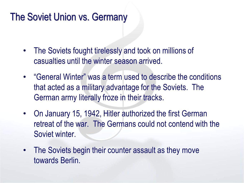The Soviet Union vs.
