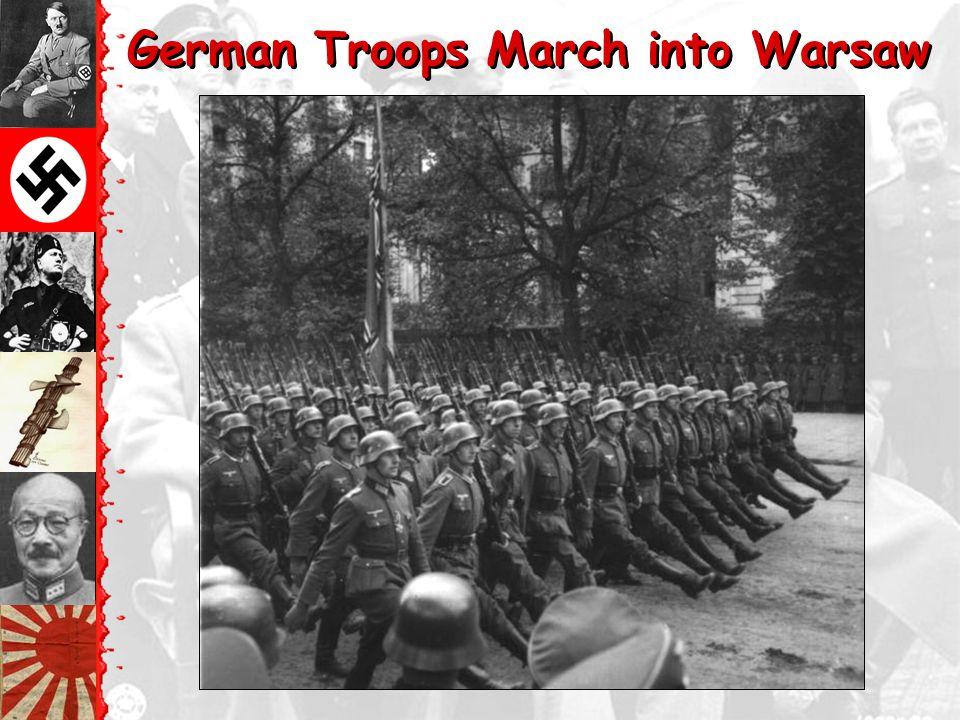 """September 1, 1939 German """"Blitzkrieg"""""""