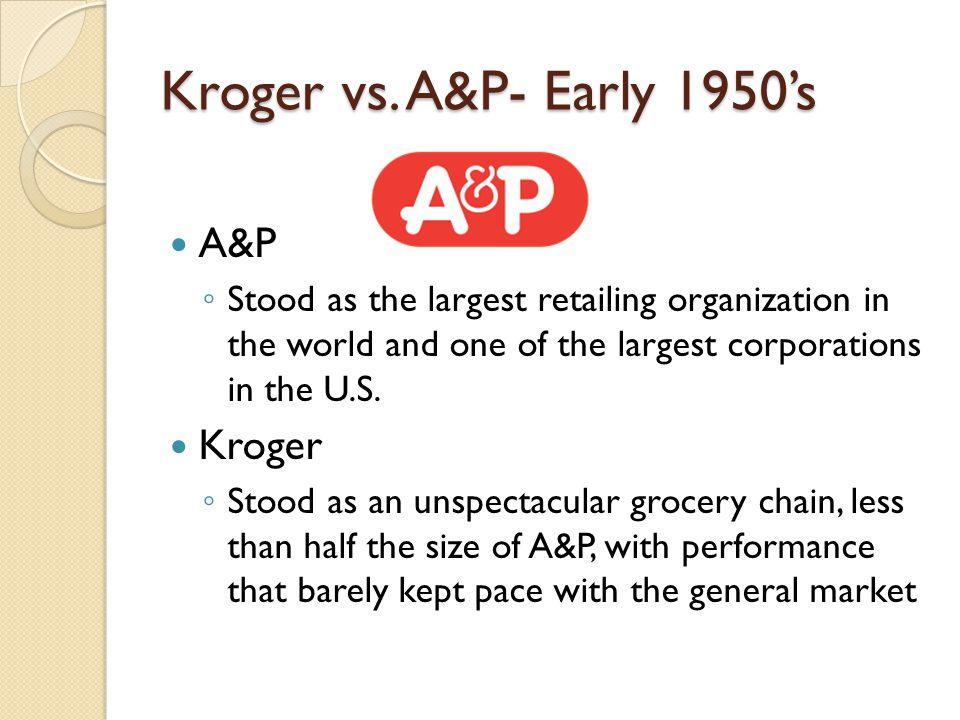 Kroger vs.