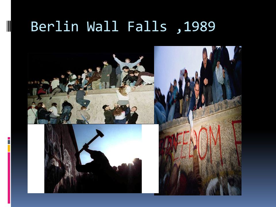 Berlin Wall Falls,1989