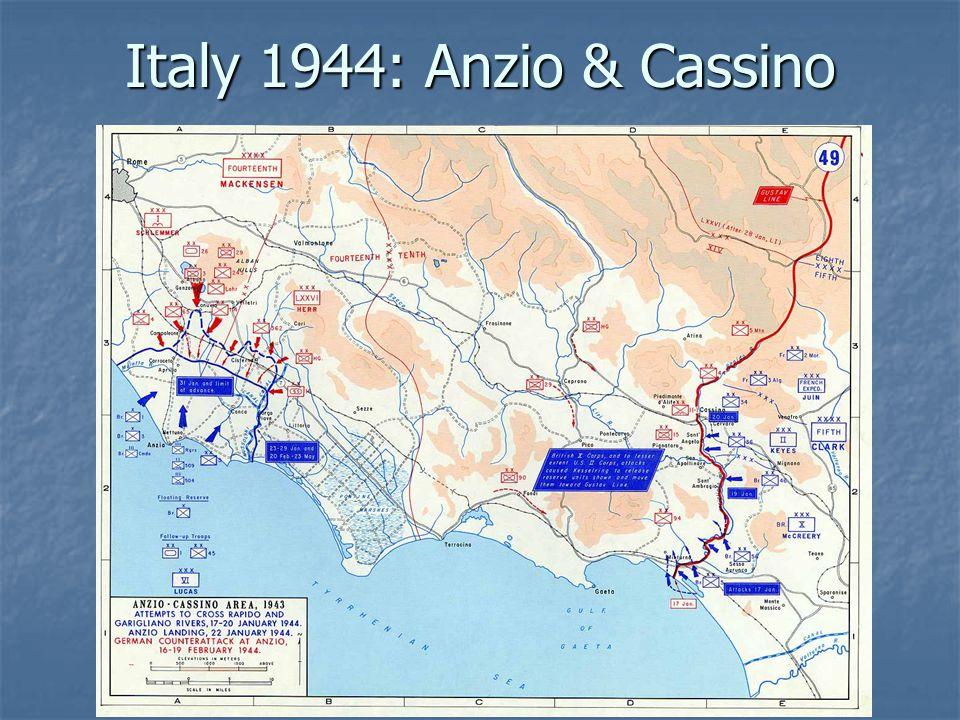 Italy 1944: Anzio & Cassino