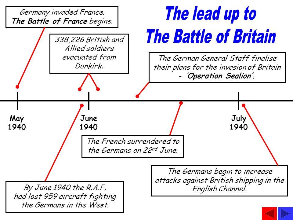 Germany invaded France. The Battle of France begins.