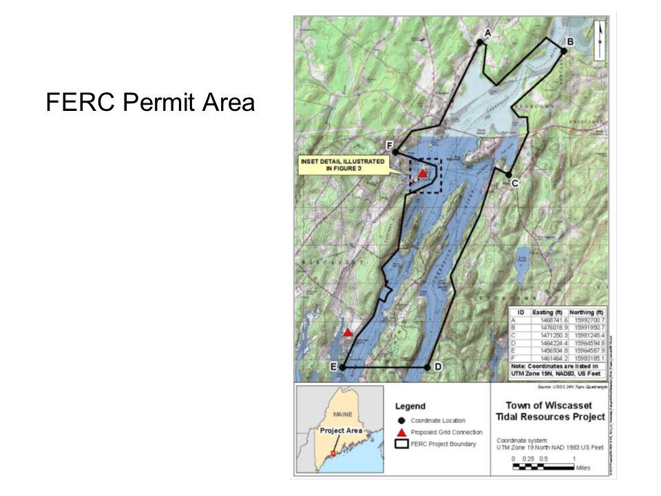 FERC Permit Area