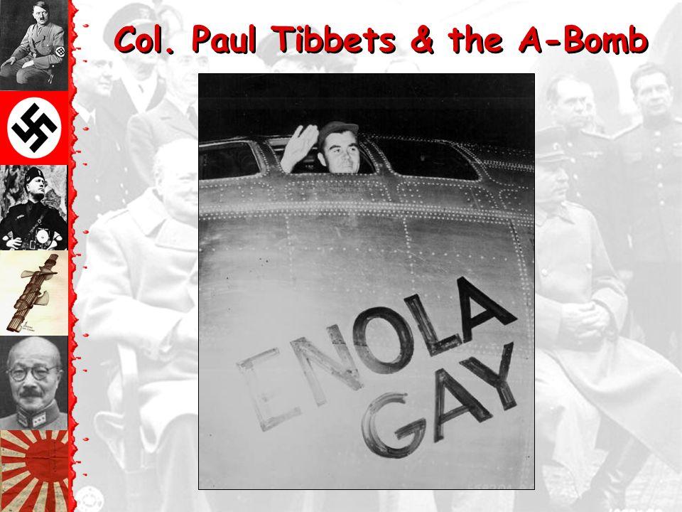 Tinian Island, 1945 Little Boy Fat Man Enola Gay Crew