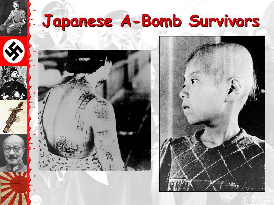 Nagasaki – August 9, 1945 ©40,000 killed immediately.