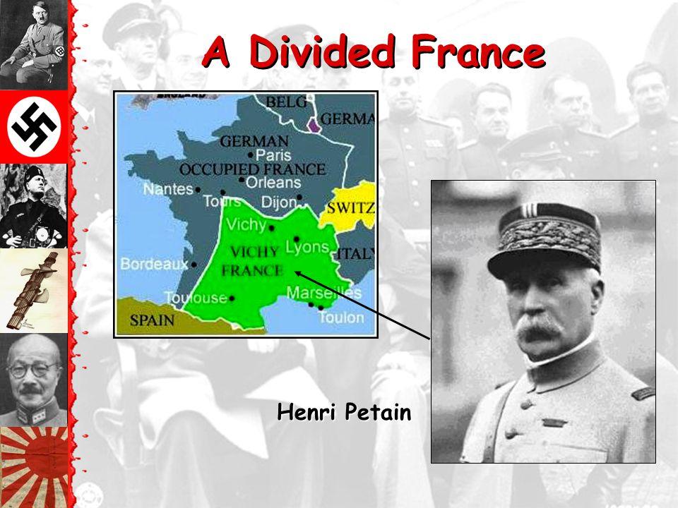 France Surrenders June, 1940