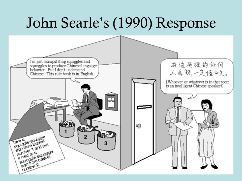 John Searle's (1990) Response
