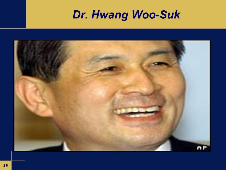 19 Dr. Hwang Woo-Suk