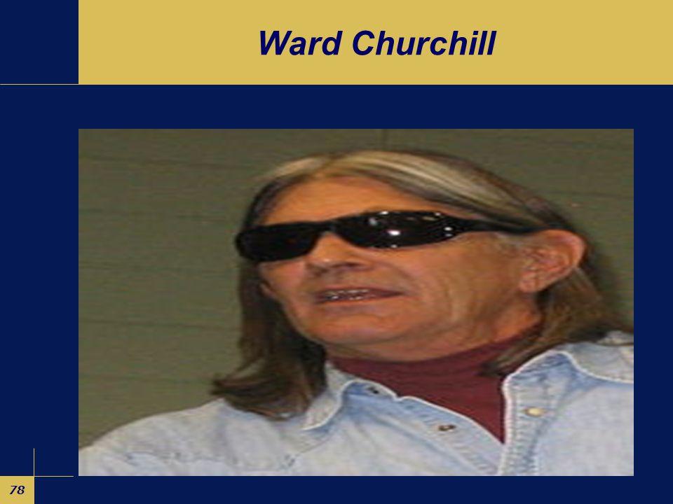 78 Ward Churchill