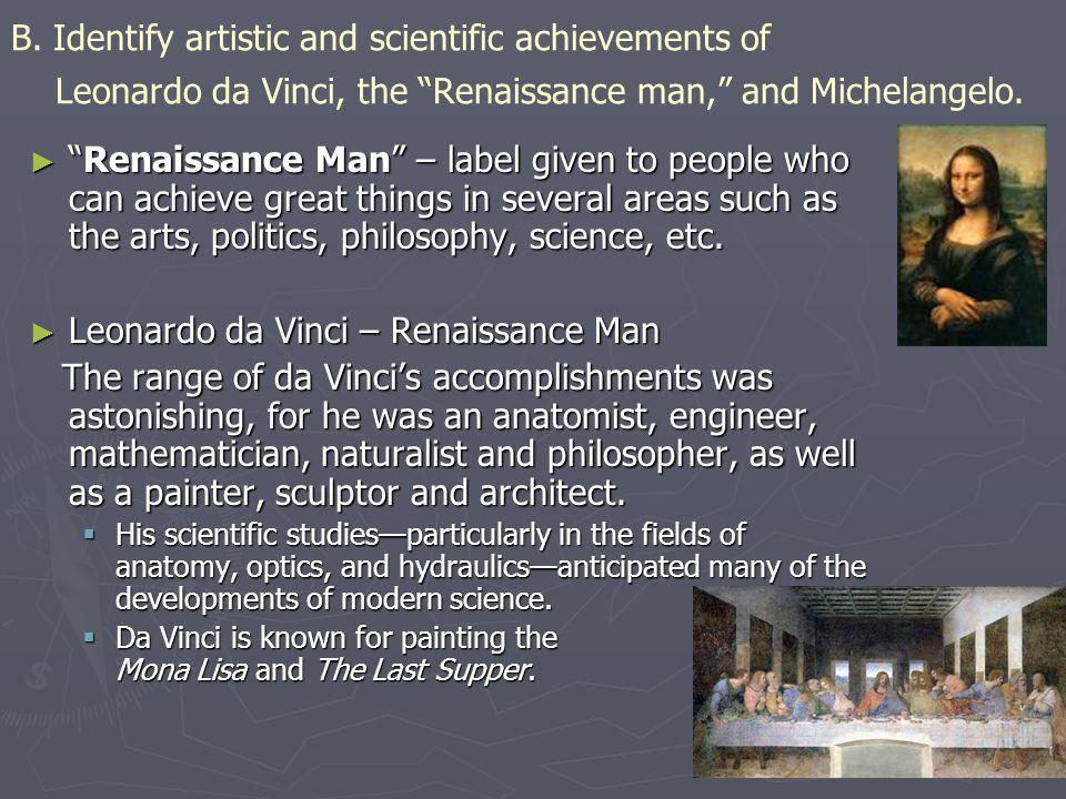 Michelangelo – Renaissance Man ► Italian sculptor, painter, architect and poet.