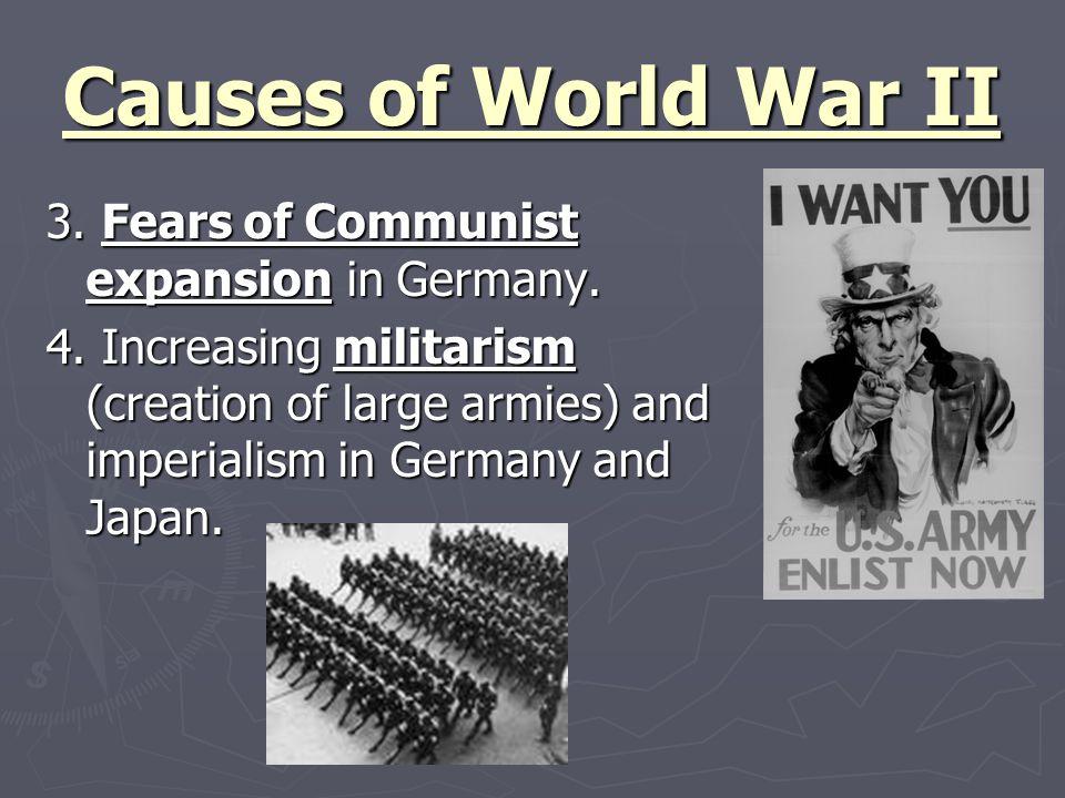 Causes of World War II 5.