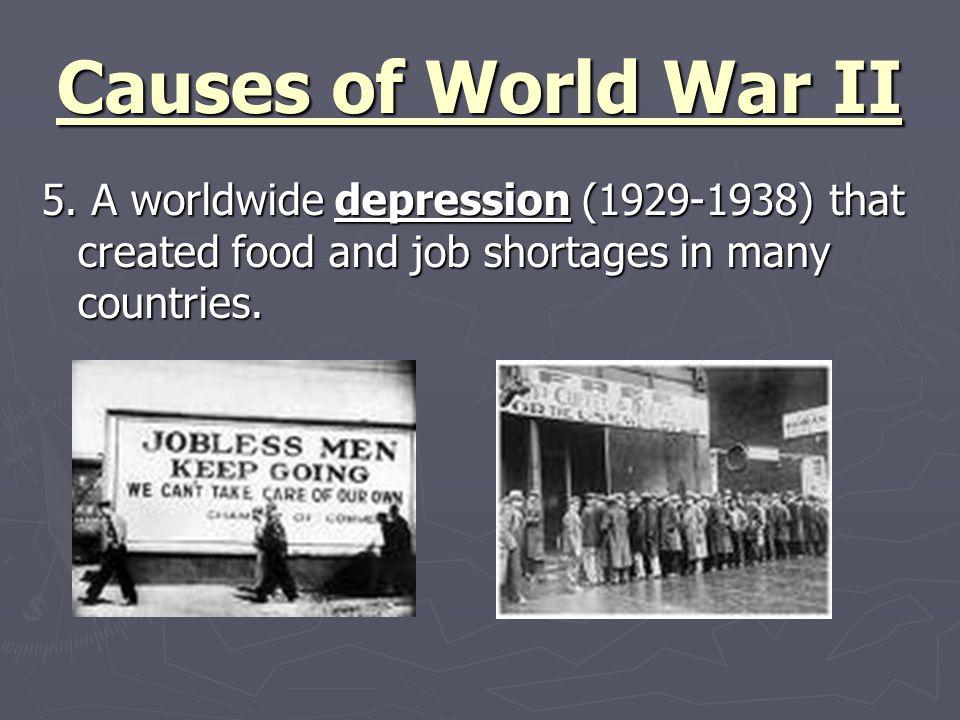 Effects of World War II (1939-1945) 1.