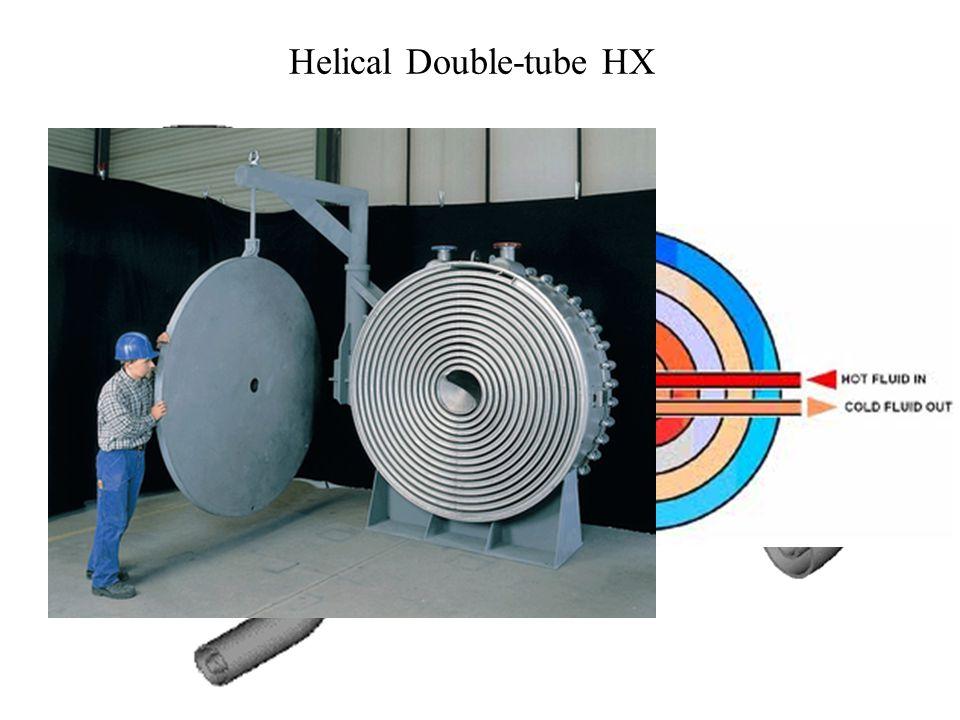 Helical Double-tube HX
