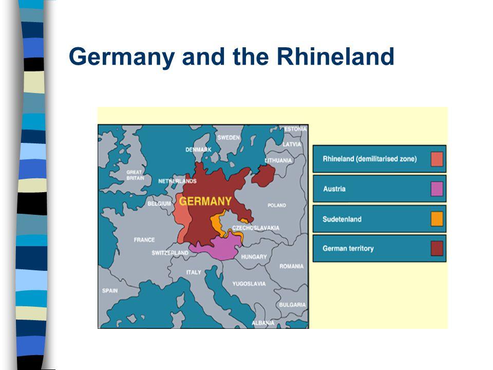 Germany and the Rhineland
