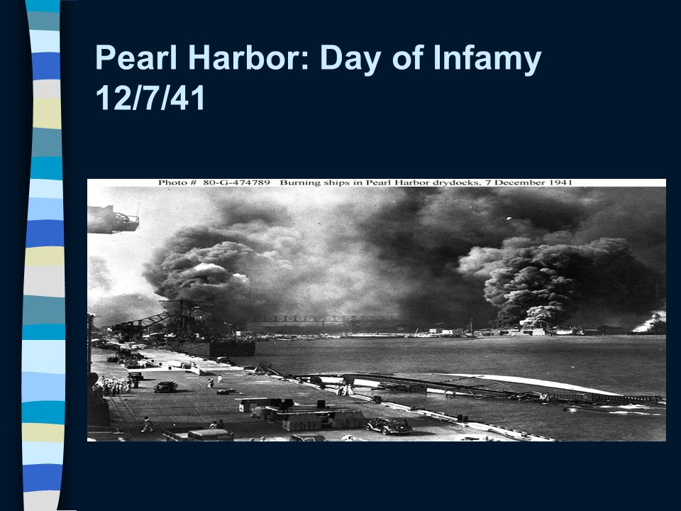 Pearl Harbor: Day of Infamy 12/7/41