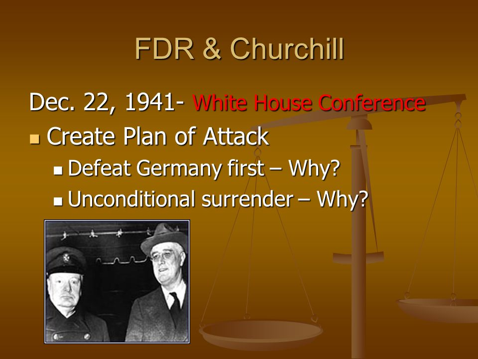 FDR & Churchill Dec.