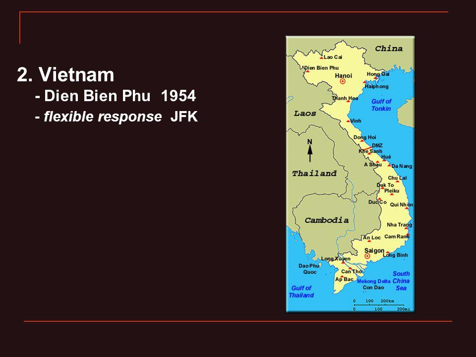 2. Vietnam - Dien Bien Phu 1954 - flexible response JFK