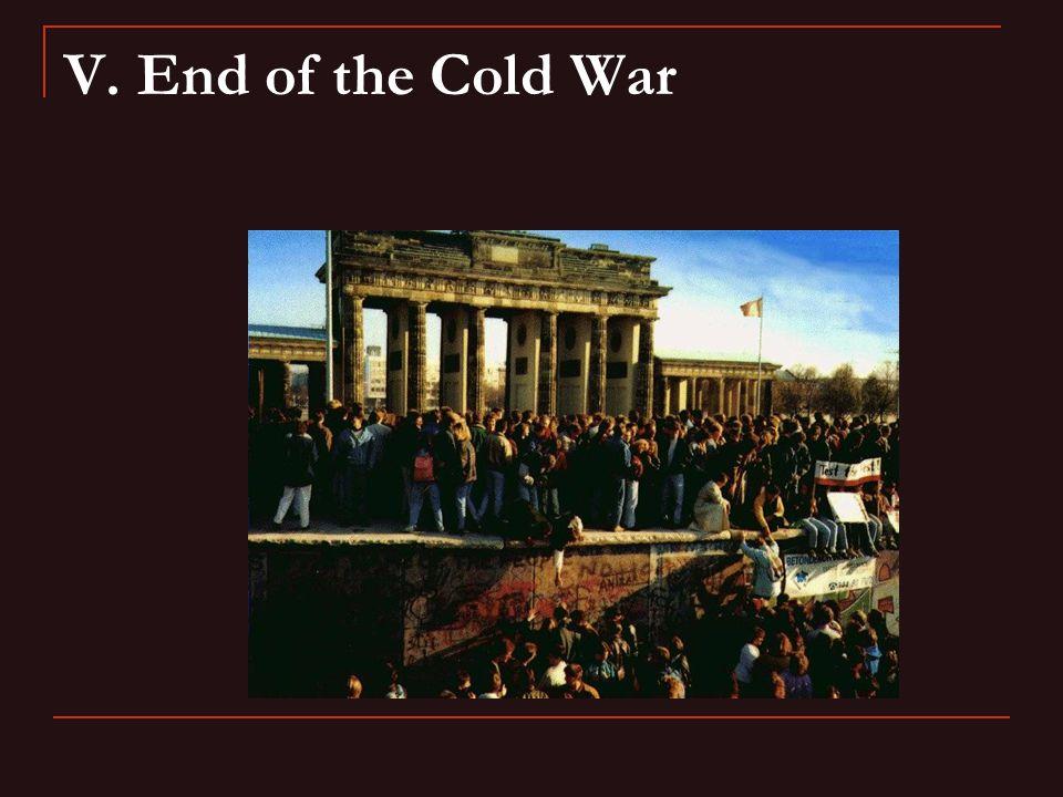 V. End of the Cold War
