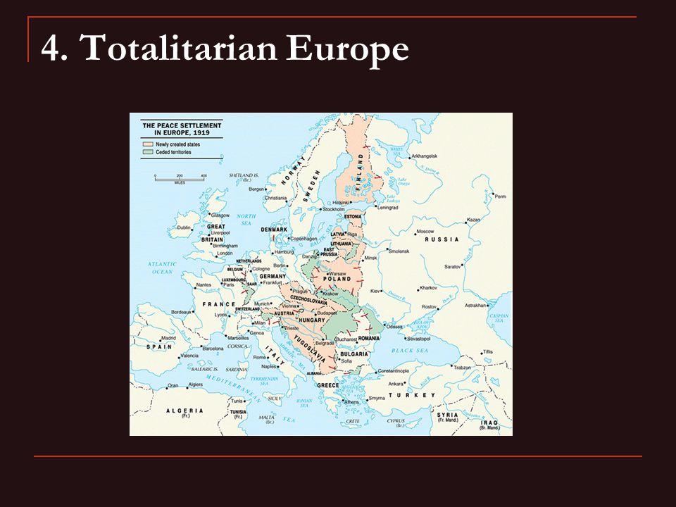 4. Totalitarian Europe