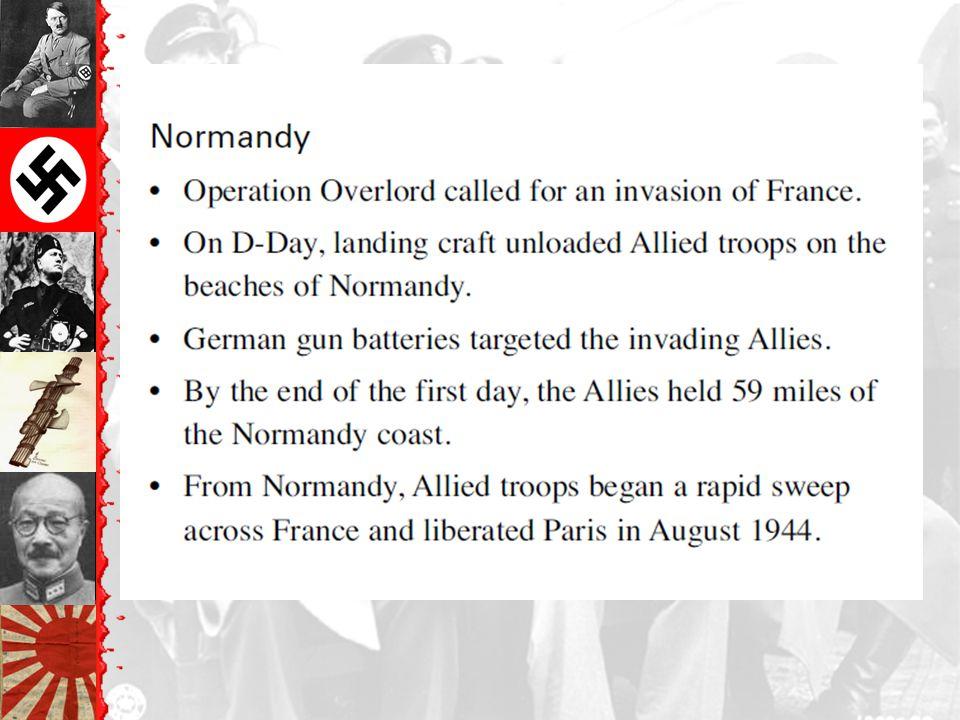 Normandy Landing (June 6, 1944 ) Higgins Landing Crafts German Prisoners