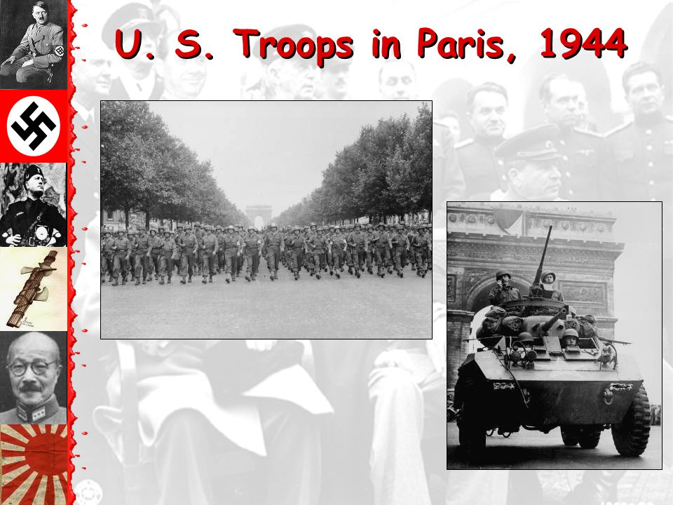 T The Liberation of Paris: August 25, 1944 De Gaulle in Triumph!