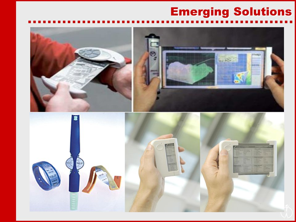 Emerging Solutions