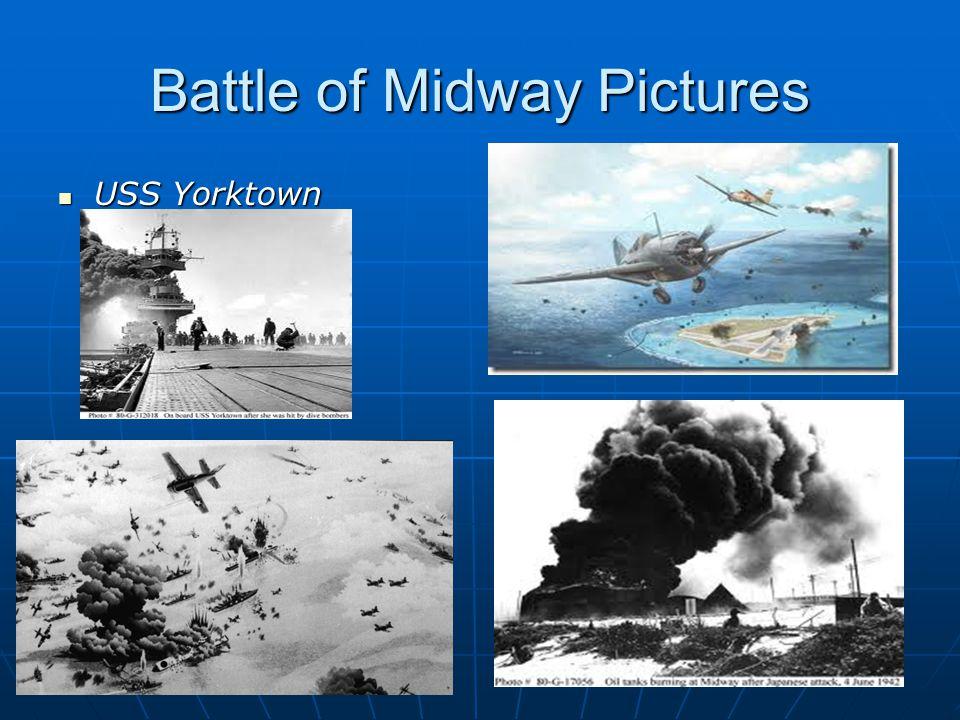 Battle of Midway Pictures USS Yorktown USS Yorktown