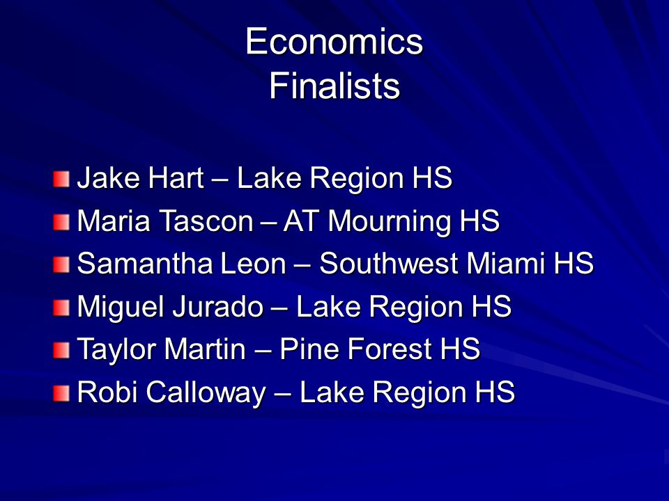 Human Resources Finalists Celia Gilmore – Pine Forest HS Brooke Dauba – Pine Forest HS Brooke Palacios – Bartow HS