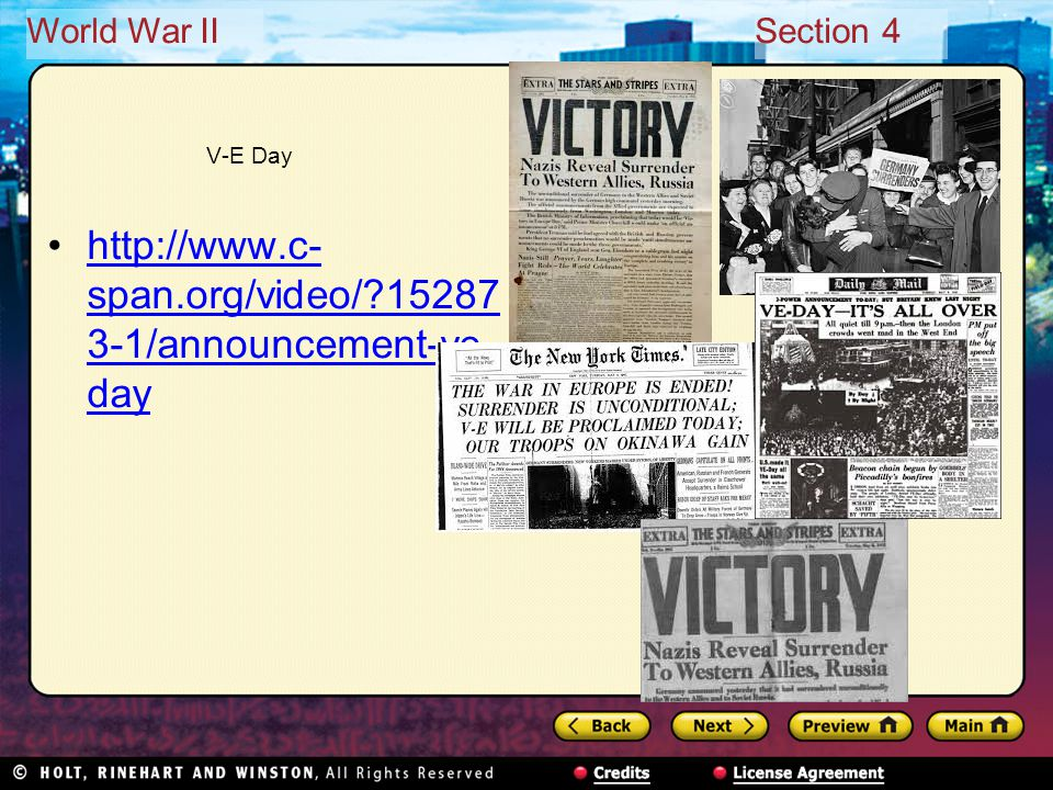 World War IISection 4 Draw Conclusions What effect did D-Day have on the war in Europe.