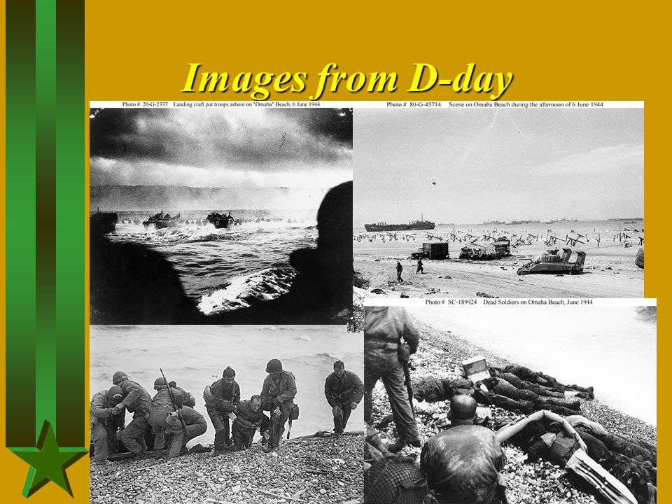 Images from D-day