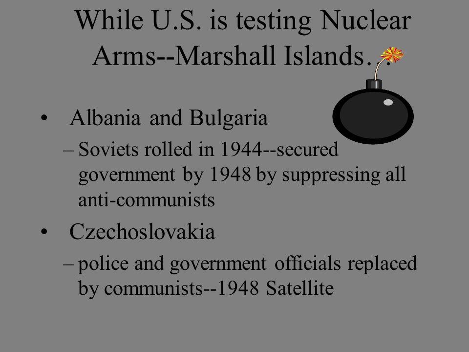 While U.S.