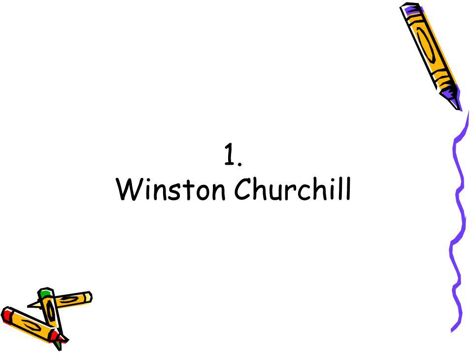 1. Winston Churchill