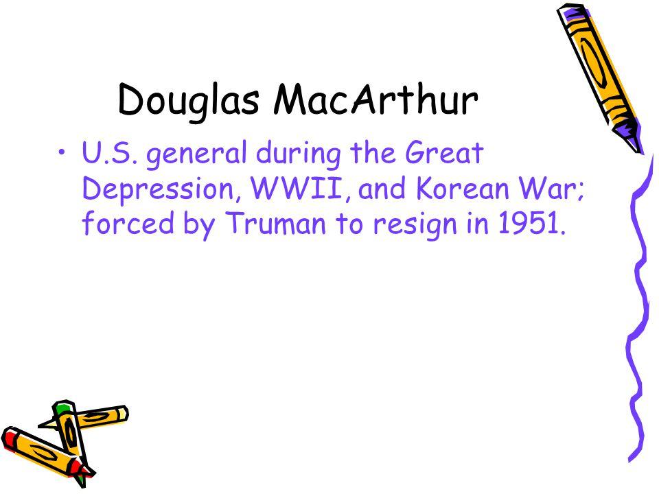 Douglas MacArthur U.S.