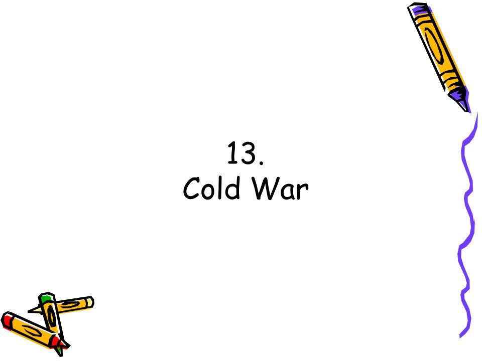 13. Cold War
