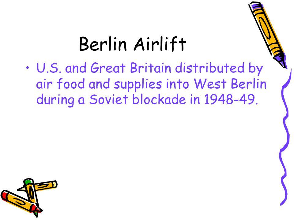 Berlin Airlift U.S.
