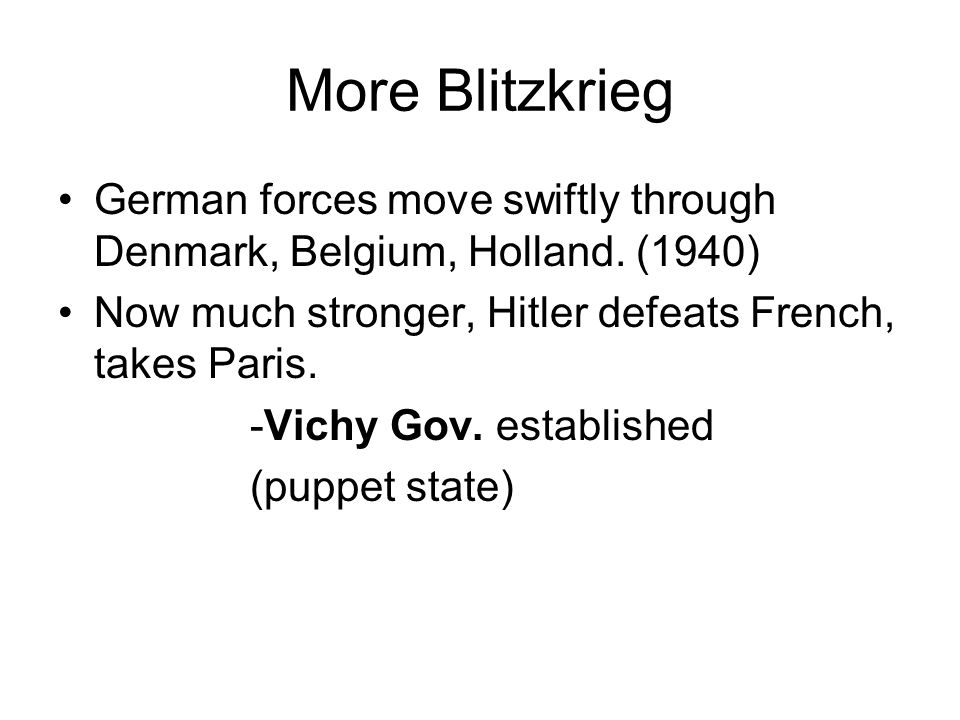 Blitzkrieg! Poland is Ours!