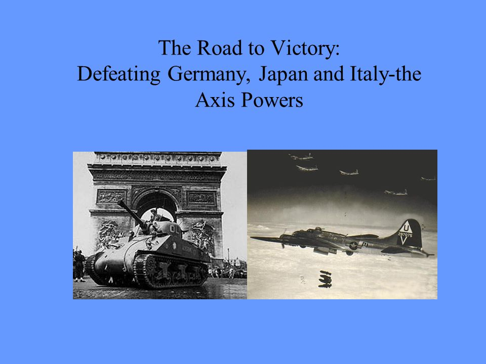 The Leaders of Germany and Japan: Hitler and Tojo